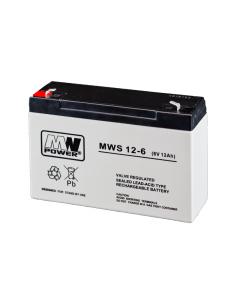 MW Power baterija 6V  12Ah