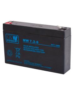 MW Power battery AGM 6V 7,2Ah