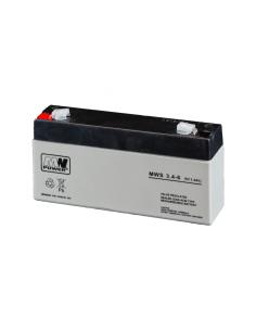 MW Power baterija 6V 3.4 Ah