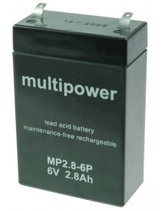 Multipower baterija 6V 2,8Ah