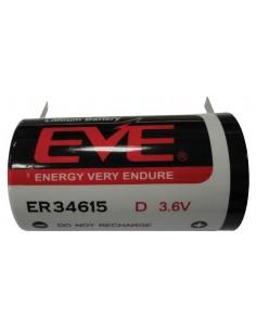 EVE Lithium ER34615 3,6V...