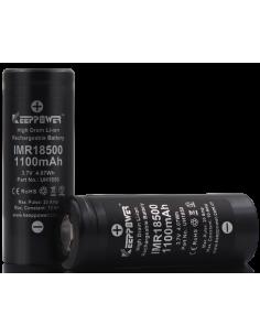 Keeppower IMR18500 1100mAh...