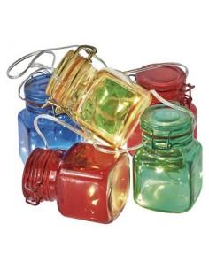 Emos LED garland – Glass